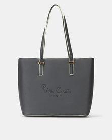 Pierre Cardin Annaliese Tote Bag Black/Mint