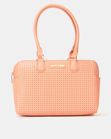 Pierre Cardin Bibiana Barrel Bag Coral