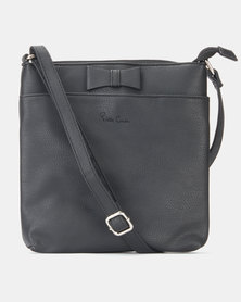 Pierre Cardin Krystal Crossbody Bag Black