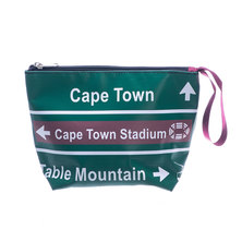 Bamba Zonke Sign Post Cape Point Zip Pocket Bag - Green