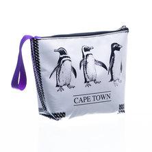 Bamba Zonke Zip Pocket Bag Penguins - Black & White