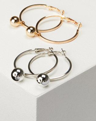 e1e6529dc9a17 Ladies Hoop Earrings   Shop Small, Medium & Large Hoop Earrings For ...