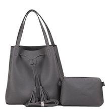 Valojusha shoulder bag with sling bag Grey v2077