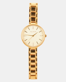 Hallmark Bracelet Watch Gold-tone