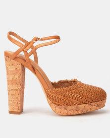Footwork Aelene Heels Tan