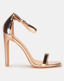 Footwork Adri Heels Rose Gold