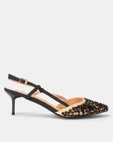 Footwork Jossy Heels Beige/Black