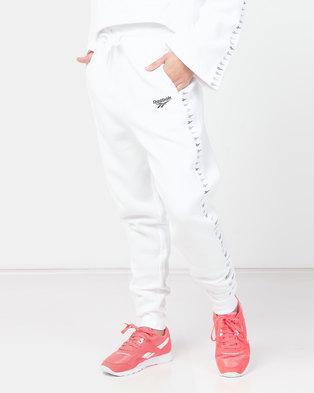 Reebok CL V P Joggers White