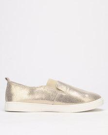Julz Fran Leather Gold