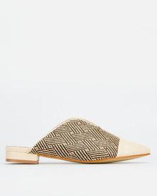 Footwork Olympia Slip in Shoe Beige