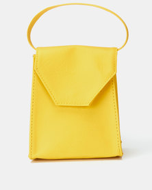 Black Lemon Mini Bag Yellow