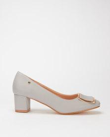 Franco Gemelli Poppy Ladies Courts Grey