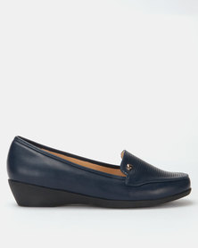 Dr Hart Milly Ladies Pumps Navy