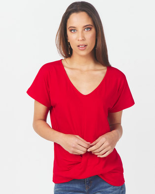 Utopia Knot Top Red