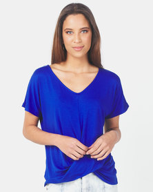 Utopia Knot Top Blue