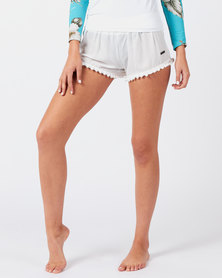 Rip Curl Cute Soft Pom Shorts White