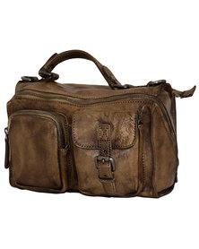 Fino Italian Aniline Nappa Leather Hand & Shoulder Bag