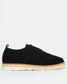 Utopia Brogue Lace ups Black