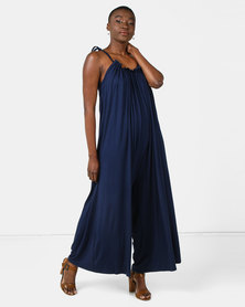 Michelle Ludek Molly Jumpsuit Navy