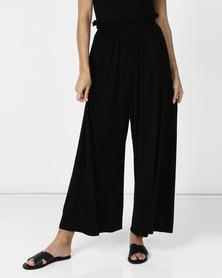 Michelle Ludek Molly Wide Leg Trousers Black