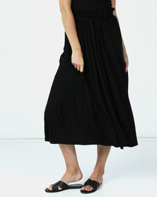 Michelle Ludek Chloe Full Skirt Black