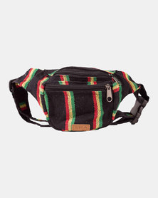 SKA Rasta Moonbag - Black