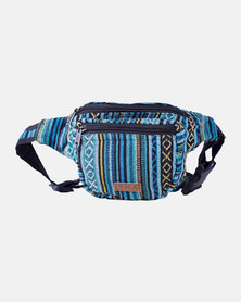 SKA Ghari Stripes Moonbag - Blue