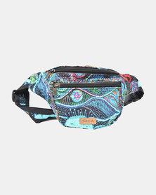 SKA Psychedelic Moonbag - Turquoise
