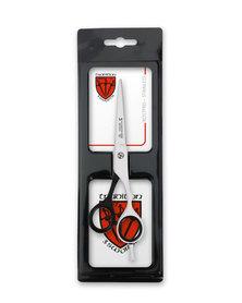 """Kellermann 3 Swords Hair Scissors 6"""" Black & White"""
