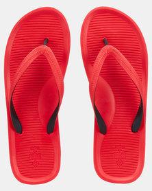 Call It Spring Groeneweg Thong Sandals Red