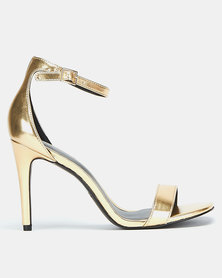 Call It Spring Bombshell Heels Gold