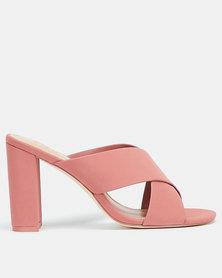 Call It Spring Mairie Block Heels Pink