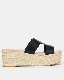 Call It Spring QIGONDRA Mid Platform Black