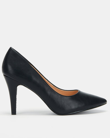 Utopia Scarpin Courts Black