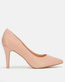 Utopia Scarpin Courts Dusty Pink