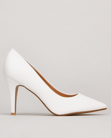 Utopia Scarpin Courts White