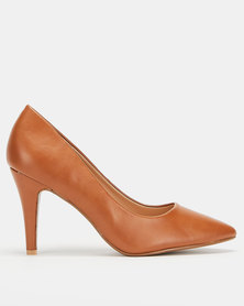 Utopia Scarpin Courts Tan