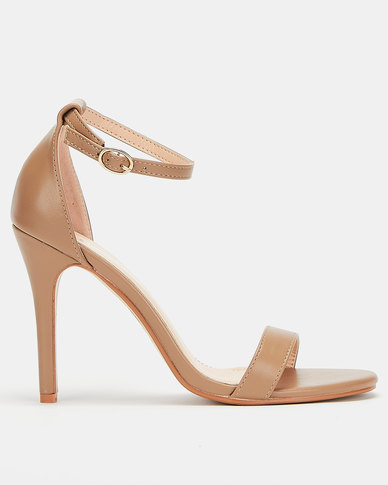 Utopia  Barely There Heels Nude
