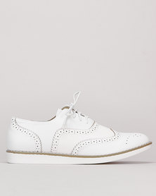 Utopia Brogue White