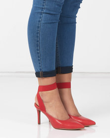 Utopia Elastic Ankle Strap Vourt Red