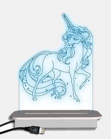 Illuminate Creations  Majestic  Unicorn Night Light  Multi