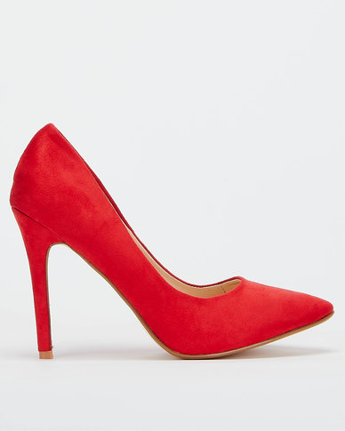 Utopia Microfibre Pointy Courts Red