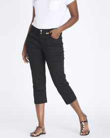 Contempo Panelled Capri Black