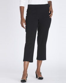 Contempo Stretch Capri Black
