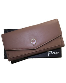 Fino Pu Leather Elegant Purse with Box