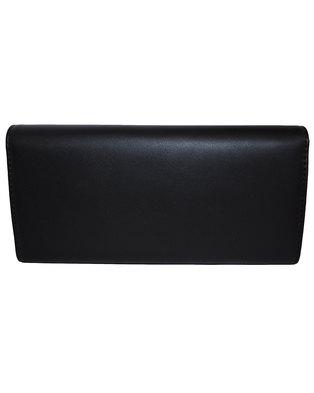 Fino Pu Leather Elegant Purse with Box-Black