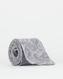 Joy Collectables Paisley Tie Grey