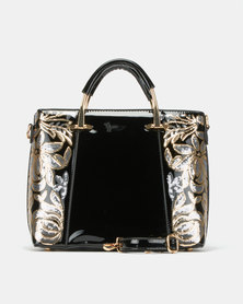 Queenspark Sequin Extravaganza Bag Black