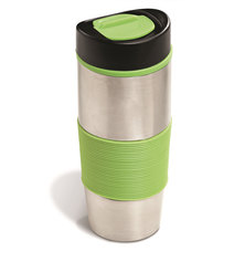 Always Summer Columbia Double wall Silicone strip Luxury Coffee Travel Tumbler Lime