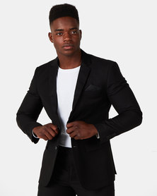 JCrew 2 Button Jacket Black